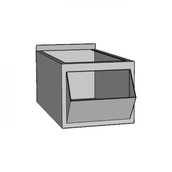 Caja metálica chica con pico