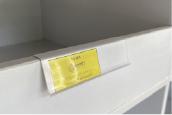 Perfil A de publicidad o precio para mueble de melamina